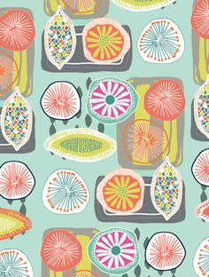 colorful flowers, print and pattern, fruit print, color combos, fruit art print, food pattern, print patterns