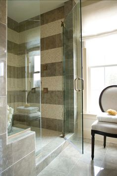 Great Bathroom Shower Tiling Ideas! #bathroom