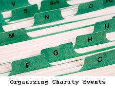 Fundraiser Help: Tips For Organizing Charity Events