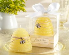 Meant to Bee - Honey Scented Beehive Candle