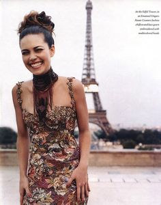 "Loving this look! ""Paris Match"", In Style US, November 1999, Amelia Heinle by Matthew Rolston"