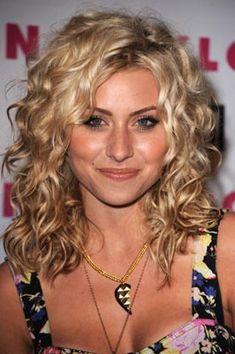 curly hairstyles, medium curly blonde hair, curly styles, curly hair medium length, curly haircuts