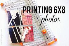 Printing 6x8 Photos   the single girl's scrapbook