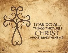 Christian Verse Tattoos for Women | Philippians 4:13 I can do all things through Christ | Flickr - Photo ...