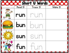 Over 100 pages of short vowel, word work fun! Just print, laminate, and go.