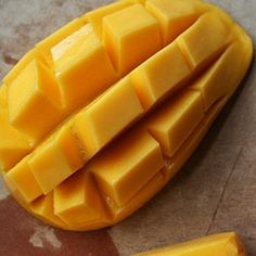 How natives eat mangos in the Philippines. Lola taught me this when I was little. It's the only way I know how to eat a mango. Fast, easy, tidy and delicious.