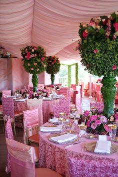 idea, wedding receptions, green centerpiecejpg, alice in wonderland, larg green, topiari, centerpieces, flower, parti