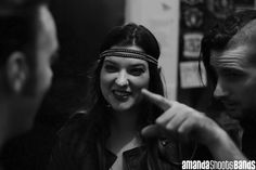 Backstage with The Twitch at The Kings Arms, Auckland | © Amanda Ratcliffe