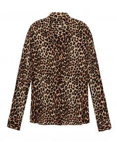 Adalyn Leopard Blouse