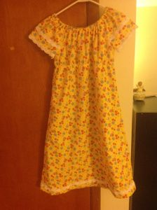 Simplicity 1722: Girl's Nightgown (or dress)