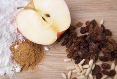 Apple and raisin kugel -- great side dish for Rosh Hashanah.