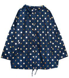 Gorman - Foil spot raincoat