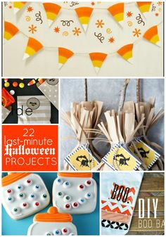 22 cute Halloween projects!