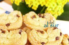 Alsurdelsur: Palmeritas con pepitas de chocolate y torciditos de azúcar