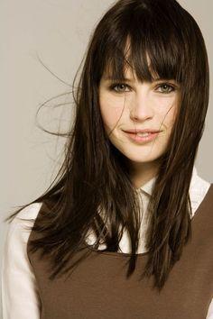 "Felicity Jones as ""Anastasia Steele"" (Choice #3) Fifty Shades of Grey - E.L. James"