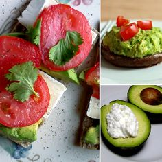 7 Avocado snacks. Never enough avocado ideas!