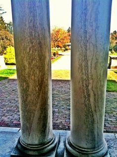 Columns, Elm Bank, Wellesley, MA