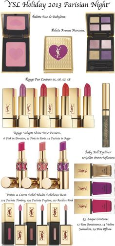 Yves Saint Laurent Holiday 2013 Collection
