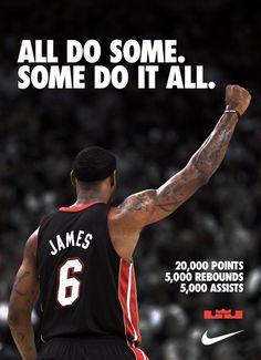 Congratulations to LeBron James