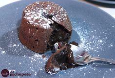 Receta de Coulant de chocolate o Muerte por chocolate - Recetasderechupete.com