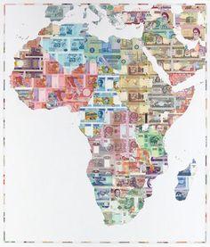 Africa money map