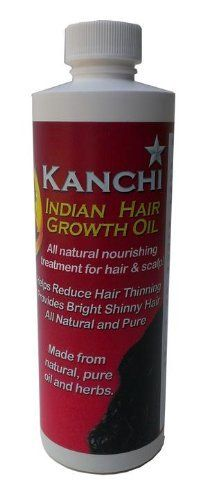 Indian Hair Growth Oil by Kanchi by Kanchi Indian Hair Growth Oil,