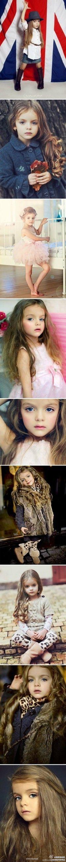 4 yo Russian model Milana Kurnikova. What do you think?