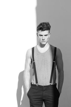 Vest and suspenders.
