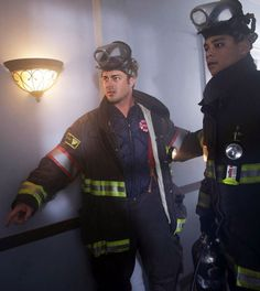 Severide and Mills