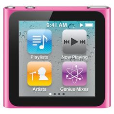 Apple iPod nano Pink 6th Generation 8GB Touch Sc... : Target