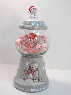Christmas Treats Jar