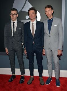 The band  fun. are 2013 Grammy Winners   Jack Antonoff, Nate Ruess, and Andrew Dost .  Dost is a native of Frankfort MI!