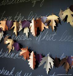 Make This Paper Leaf Wreath