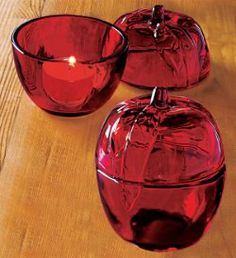 $7 Great school teachers gift! Nature's Bounty Apple Tealight Candle Holder by #PartyLite #Candles