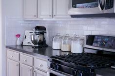 Paloma Contreras Design   Houston Interior Designer   Cabinet Color: Martha Stewart Sharkey Gray #kitchen