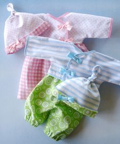 Bitty Baby Clothes Pattern