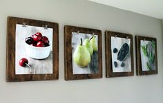 DIY these beautifully stained clipboards to showcase your favorite photos...or the kiddos ever growing artwork