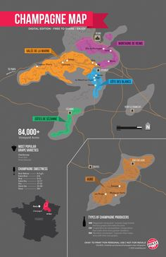 champagn map, champagne, region map, wine map, maps, wine region, champagn wine, wine folli, champagn region