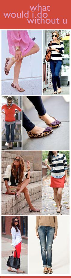 leopard shoes!