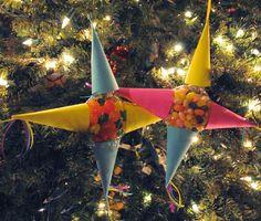 Mommy Maestra: Las Posadas Craft: Piñata Ornaments