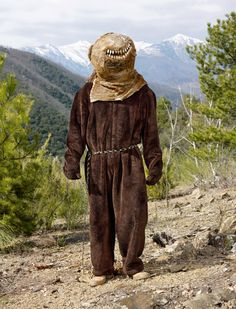 FRANCE: Spring festivals in the Pyrenees feature local men playing the role of bears awakening from hibernation. © Charles Fréger