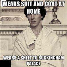 Oh Sherlock.