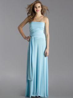 Von Vonni Sky Blue Long Transformer Dress!
