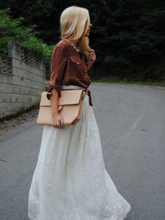 lapetiteblonde Outfit   Verano 2012. Combinar Bolso Beige Zara, Cómo vestirse y combinar según lapetiteblonde el 5-9-2012