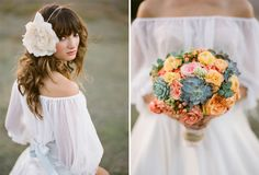 So many beautiful ideas from this wedding http://thismodernromance.com/main/?p=1108 shoot