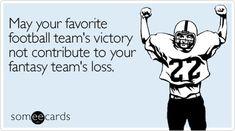 the perils of fantasy football!