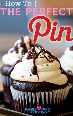 How to Create the Perfect Image for Pinterest on FamilyFreshCooking.com