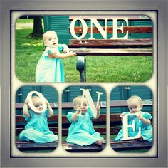 1st birthday pics, photos by yours truly! Such a sweet little girl!  :)