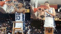 Duke Blue Devils Men's Basketball players Grant Hill Christian Laettner