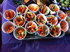 Great idea for a class snack!  #healthy snack #halloween